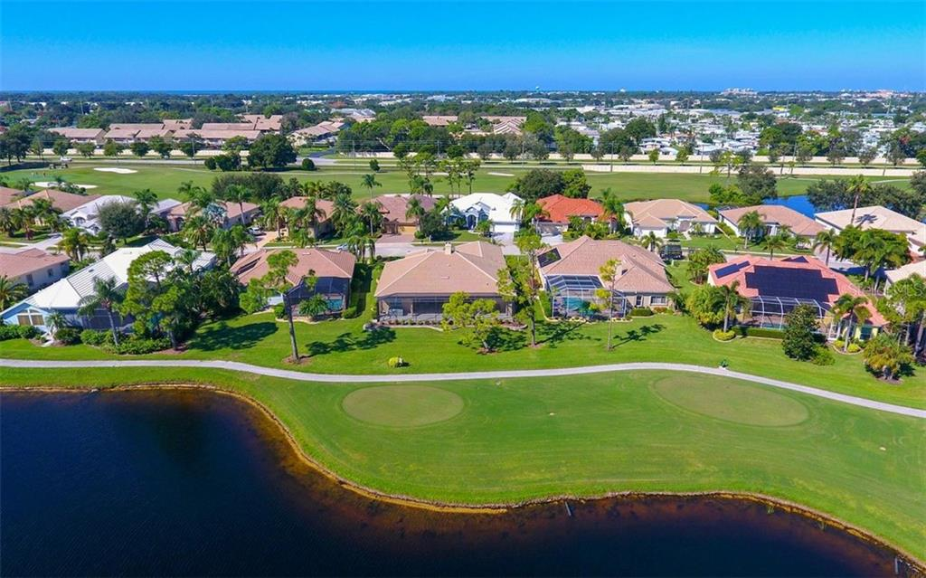 Aerial - Single Family Home for sale at 979 Chickadee Dr, Venice, FL 34285 - MLS Number is N6102266