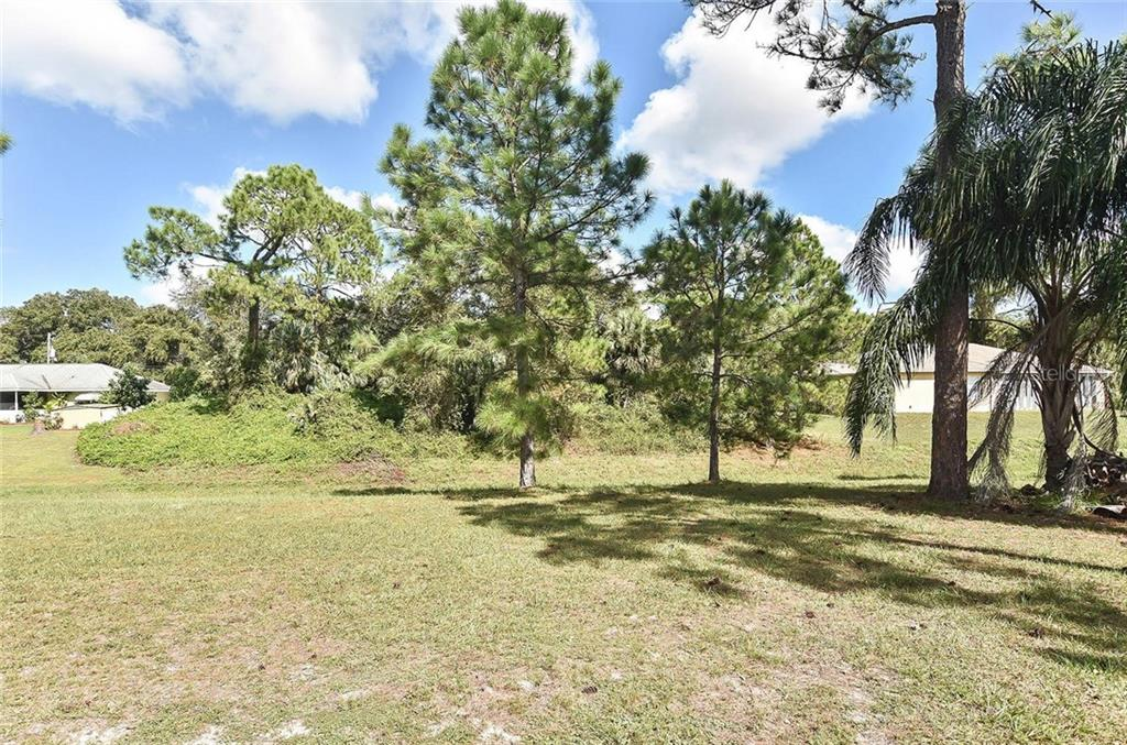 Yard - Single Family Home for sale at 3572 January Ave, North Port, FL 34288 - MLS Number is N6102434