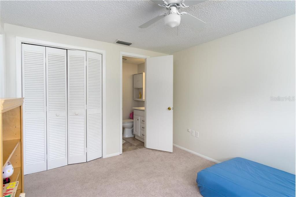 2nd Bedroom, has door to guest bath. - Single Family Home for sale at 3656 Clematis Rd, Venice, FL 34293 - MLS Number is N6103558