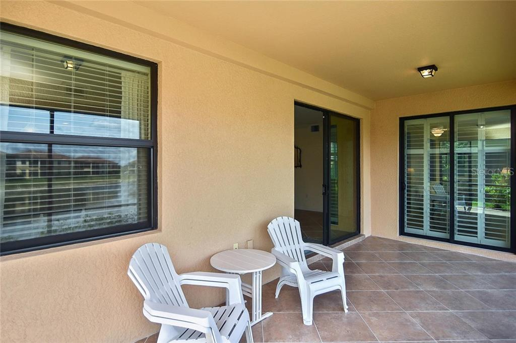 Spacious tiled lanai. - Condo for sale at 20111 Ragazza Cir #102, Venice, FL 34293 - MLS Number is N6105517