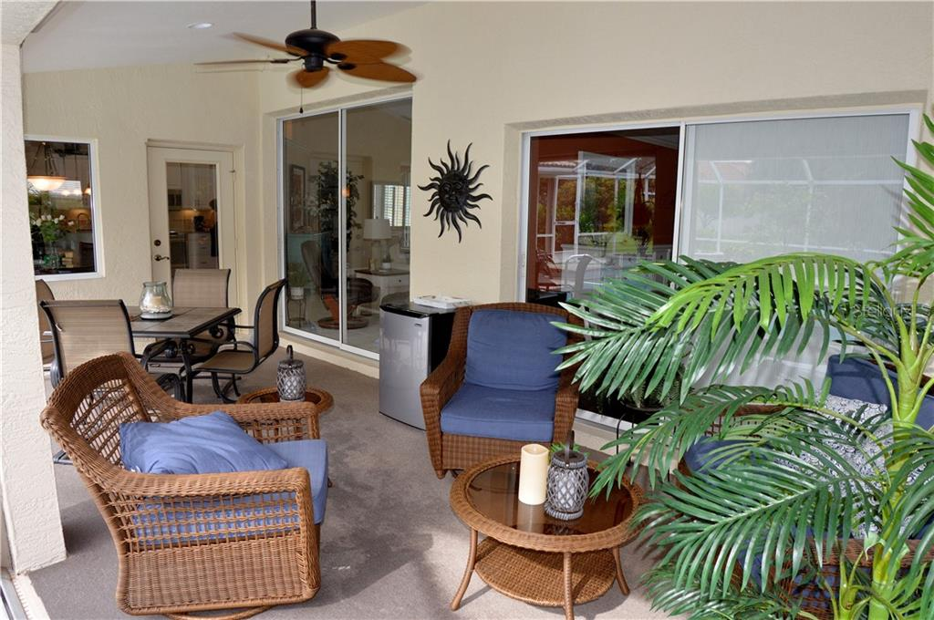Lanai - Single Family Home for sale at 537 Lake Of The Woods Dr, Venice, FL 34293 - MLS Number is N6106043
