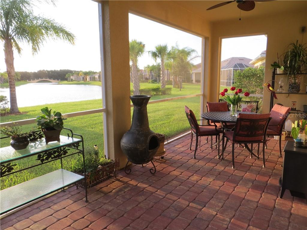 Large Paved Lanai - Single Family Home for sale at 19251 Jalisca St, Venice, FL 34293 - MLS Number is N6106100