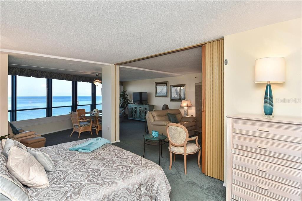 Master bedroom - Condo for sale at 840 The Esplanade N #704, Venice, FL 34285 - MLS Number is N6107071