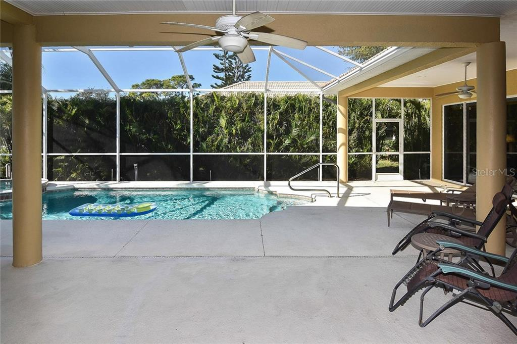 Lanai/pool - Single Family Home for sale at 321 Dulmer Dr, Nokomis, FL 34275 - MLS Number is N6108685