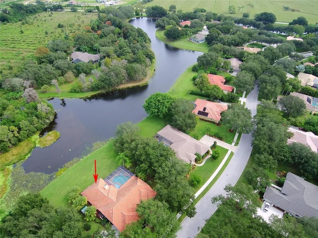 Aerial - Single Family Home for sale at 7185 N Serenoa Dr, Sarasota, FL 34241 - MLS Number is N6109058