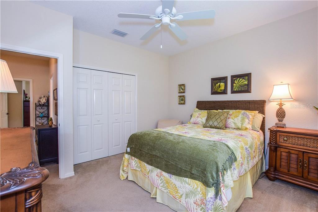 Second bedroom. - Single Family Home for sale at 2560 Pebble Creek Pl, Port Charlotte, FL 33948 - MLS Number is N6109100