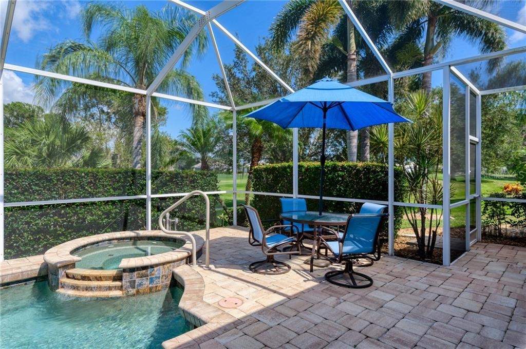 Spa - Single Family Home for sale at 953 Chickadee Dr, Venice, FL 34285 - MLS Number is N6111180