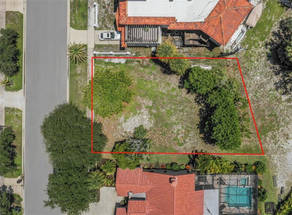 Aerial - Vacant Land for sale at 305 Ponce De Leon Ave, Venice, FL 34285 - MLS Number is N6111554