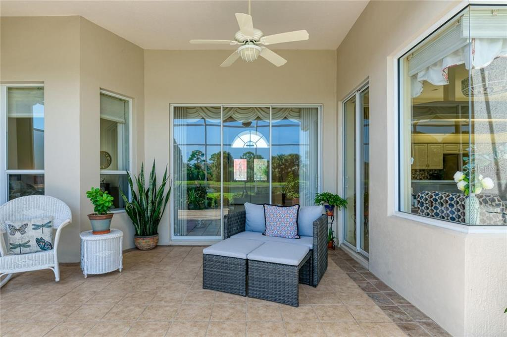 Lanai - Single Family Home for sale at 886 Macaw Cir, Venice, FL 34285 - MLS Number is N6111692