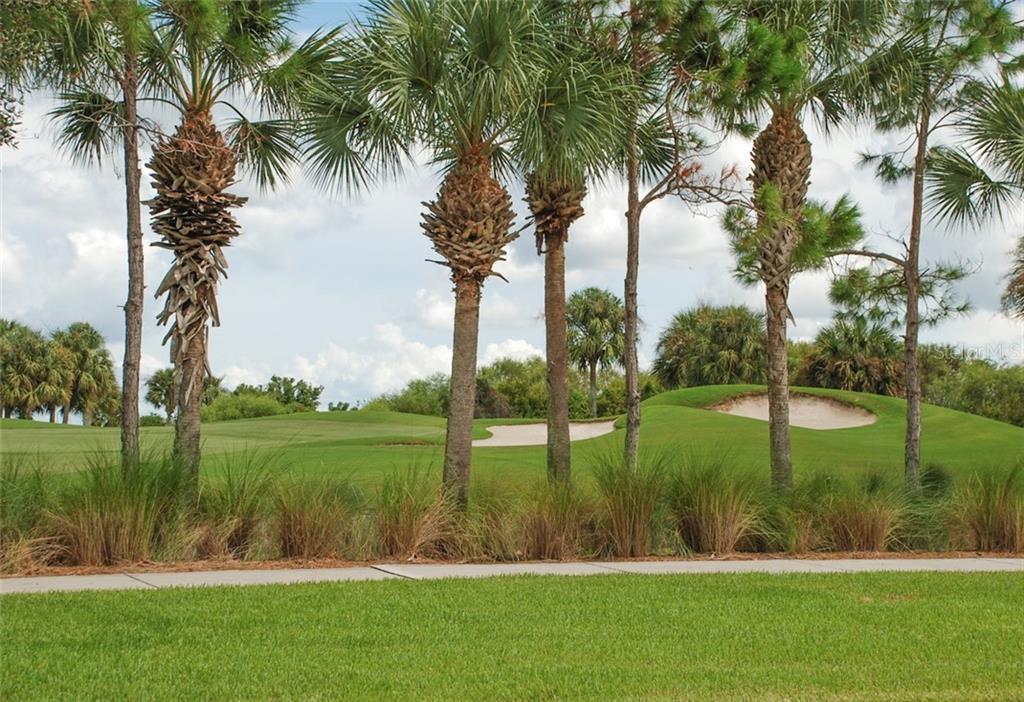 Bocce ball courts - Single Family Home for sale at 10424 Crooked Creek Dr, Venice, FL 34293 - MLS Number is N6112285