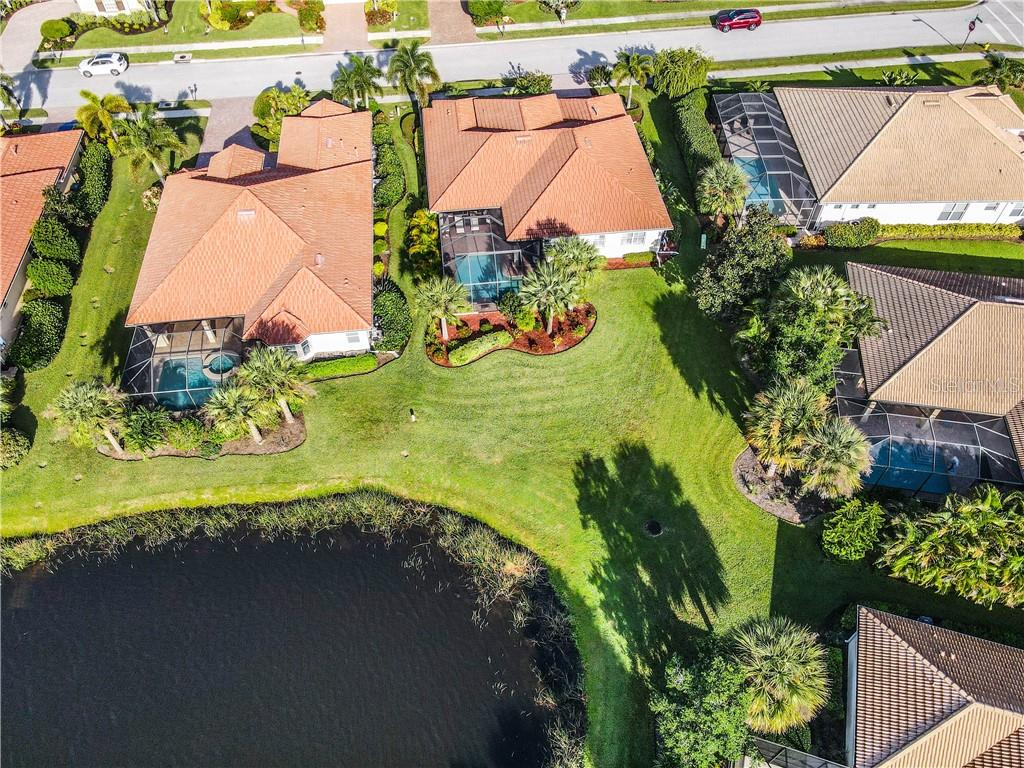 Aerial - Single Family Home for sale at 154 Rimini Way, North Venice, FL 34275 - MLS Number is N6112459