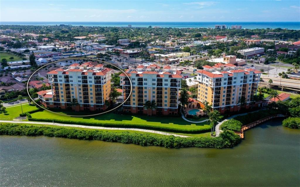 Building C on the left - Condo for sale at 167 Tampa Ave E #313, Venice, FL 34285 - MLS Number is N6112536