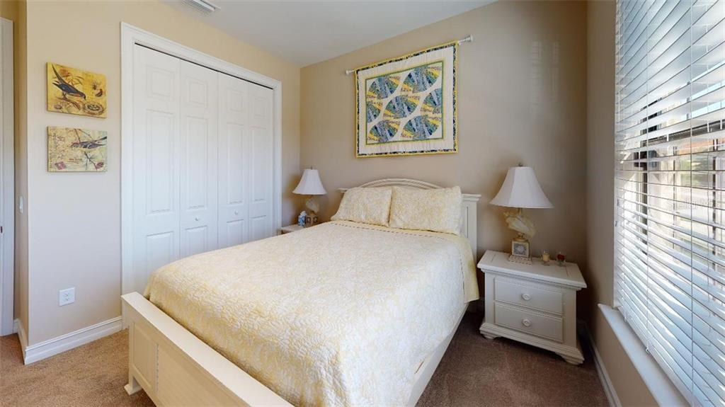 SECOND BEDROOM - Single Family Home for sale at 1051 Bradberry Dr, Nokomis, FL 34275 - MLS Number is N6112687