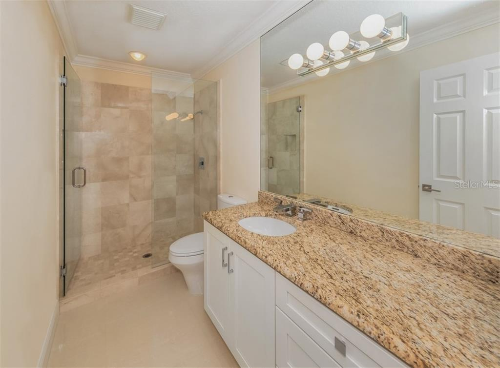 Guest bathroom - Single Family Home for sale at 1321 Guilford Dr, Venice, FL 34292 - MLS Number is N6113272