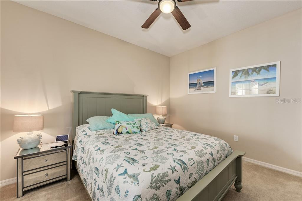 Bedroom #2 - Villa for sale at 11433 Okaloosa Dr, Venice, FL 34293 - MLS Number is N6113314
