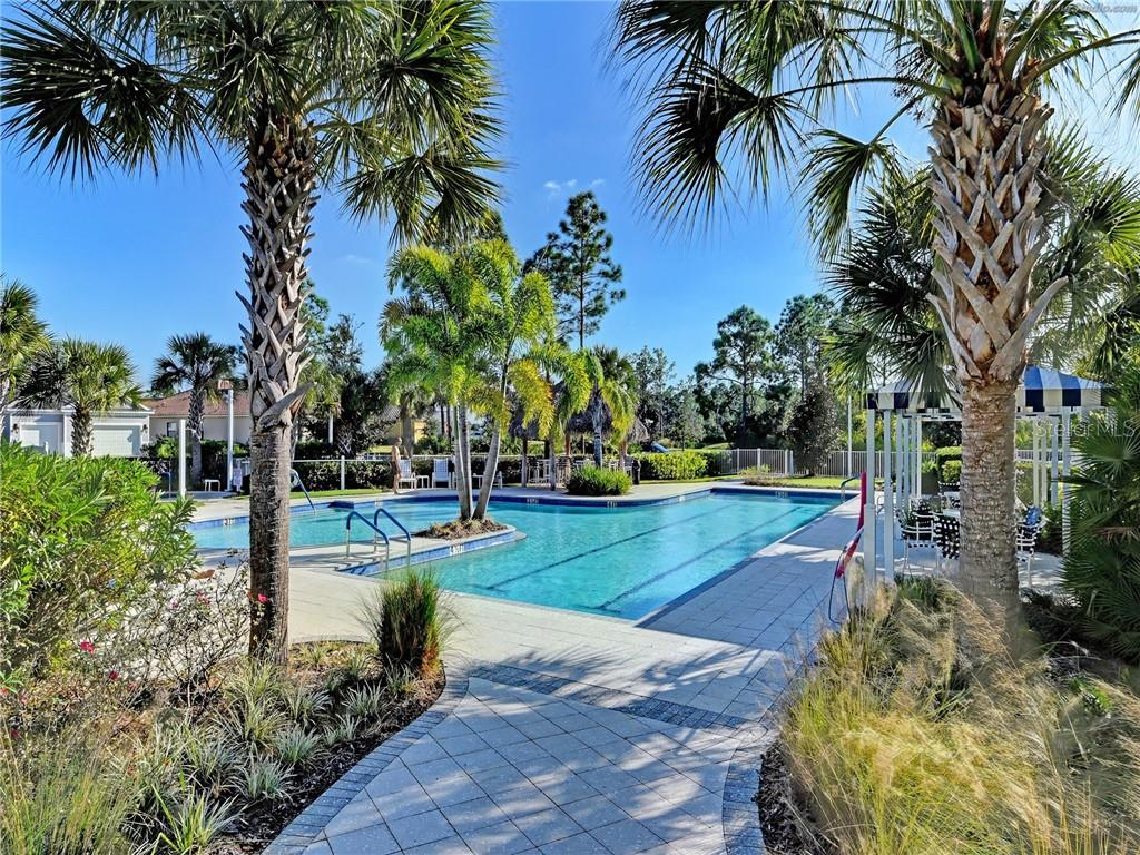 Swimming lanes/Spa - Villa for sale at 11433 Okaloosa Dr, Venice, FL 34293 - MLS Number is N6113314