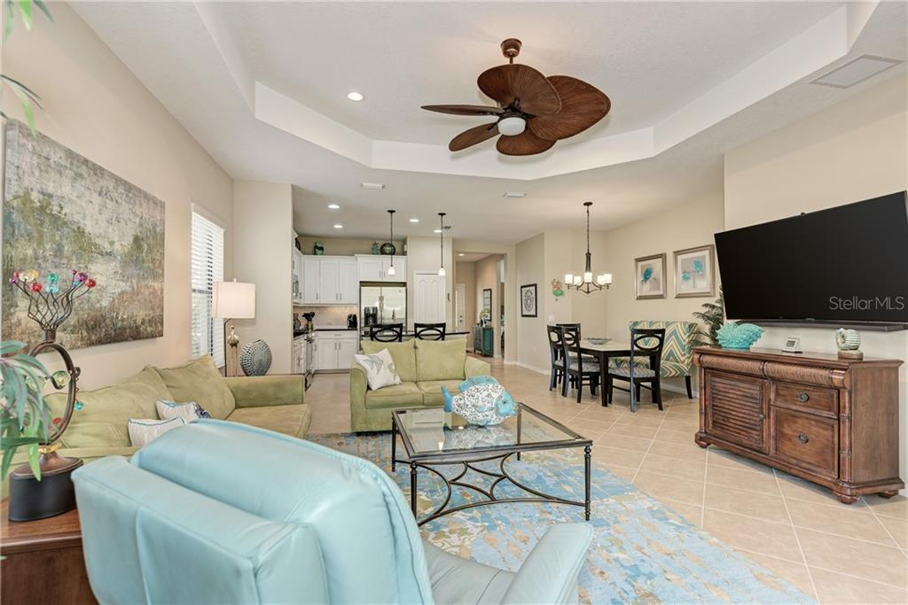 Open Floor Plan - Villa for sale at 11433 Okaloosa Dr, Venice, FL 34293 - MLS Number is N6113314