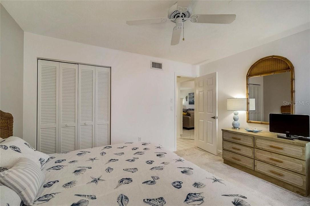 Bedroom 2 - Condo for sale at 1041 Capri Isles Blvd #105, Venice, FL 34292 - MLS Number is N6114557
