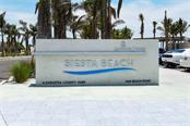 ENTRANCE TO THE WORLD RENOWNED SIESTA KEY BEACH - Condo for sale at 5740 Midnight Pass Rd #505 F, Sarasota, FL 34242 - MLS Number is N6102195