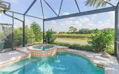 Pool/spa with view of intracoastal - Single Family Home for sale at 226 Rio Terra, Venice, FL 34285 - MLS Number is N6107320