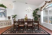Dining room - Single Family Home for sale at 498 Pine Lily Way, Venice, FL 34293 - MLS Number is N6110849