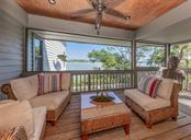 Main house lanai - Single Family Home for sale at 2208 Casey Key Rd, Nokomis, FL 34275 - MLS Number is N6110959