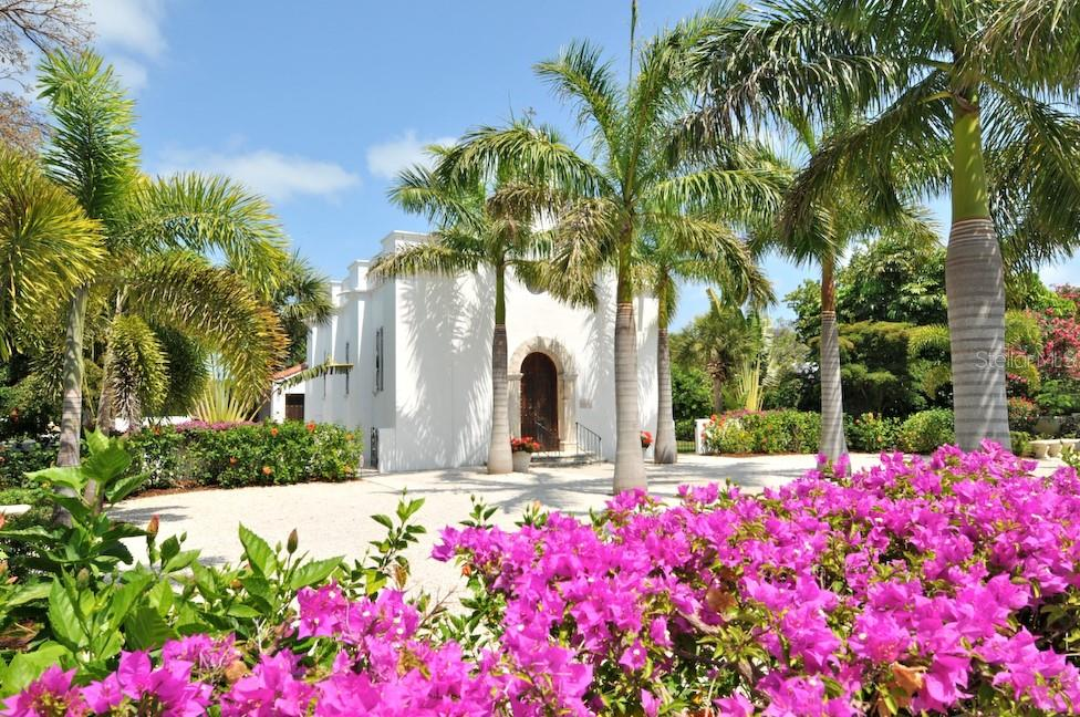 The Catholic church in the spring - Single Family Home for sale at 1600 E Railroad Ave, Boca Grande, FL 33921 - MLS Number is D6108744