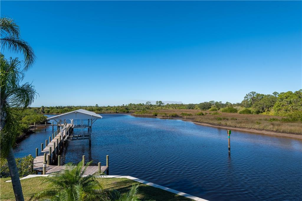 WATERFRONT VIEW - Single Family Home for sale at 13000 Windcrest Dr, Port Charlotte, FL 33953 - MLS Number is C7410459