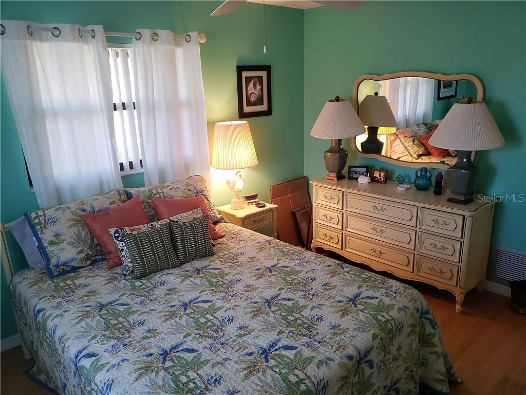 Another view of guest bedroom - Single Family Home for sale at 24 Tiffany St, Englewood, FL 34223 - MLS Number is C7410842