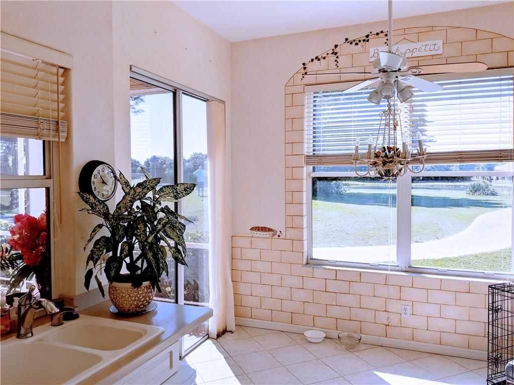 DINETTE AREA, (FAUX PAINT NOT WALL PAPER) - Single Family Home for sale at 26442 Feathersound Dr, Punta Gorda, FL 33955 - MLS Number is C7412660