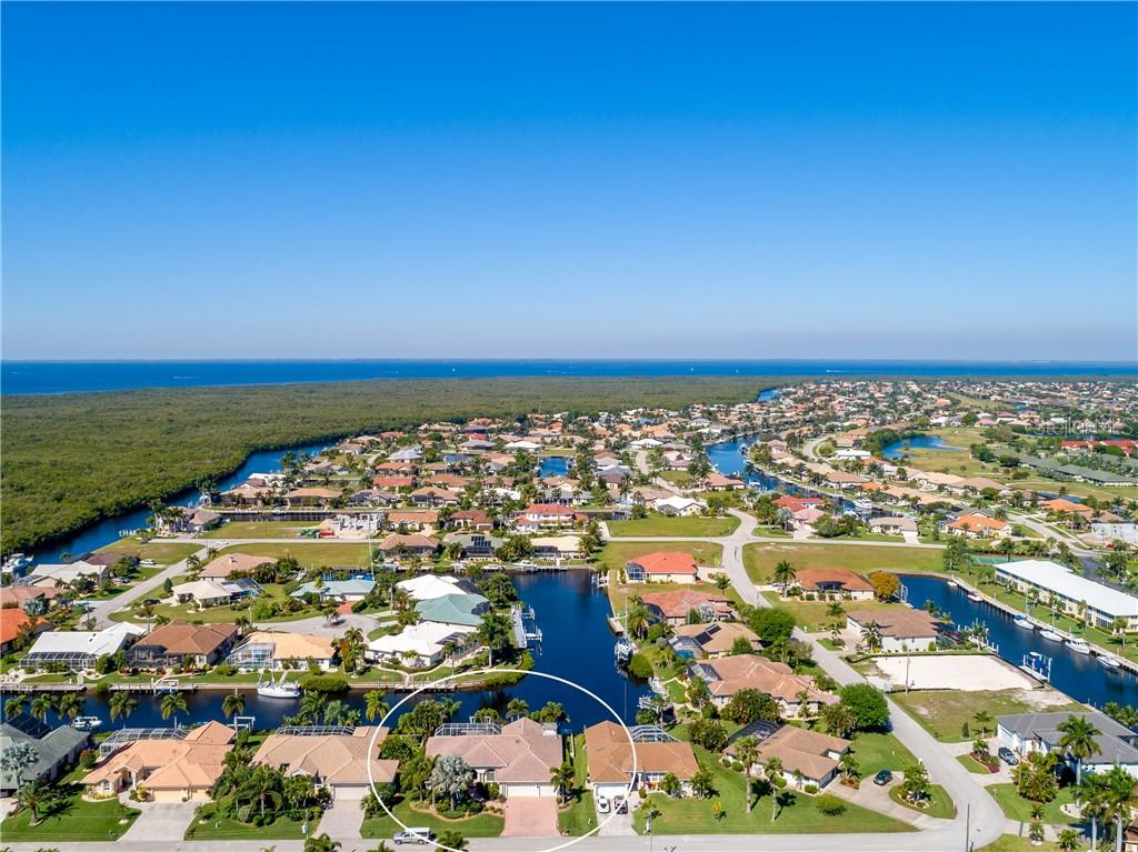 Easy access to Charlotte Harbor. Approximately 20 minutes to Ponce De Leon Inlet. - Single Family Home for sale at 1309 Casey Key Dr, Punta Gorda, FL 33950 - MLS Number is C7413790