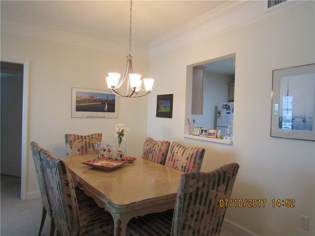 Dining Room - Condo for sale at 750 N Tamiami Trl #1108, Sarasota, FL 34236 - MLS Number is A4190640