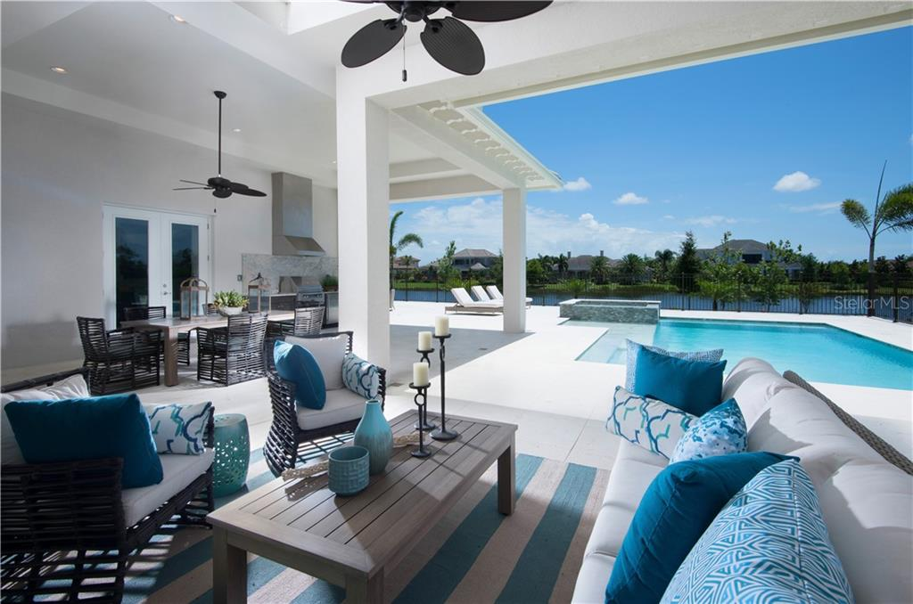 Beautiful outdoor living - Single Family Home for sale at 16416 Daysailor Trl, Lakewood Ranch, FL 34202 - MLS Number is A4192121