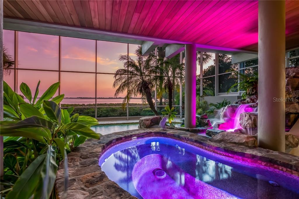 Hot Tub Spa at Sunset - Single Family Home for sale at 39 Tidy Island Blvd, Bradenton, FL 34210 - MLS Number is A4202735