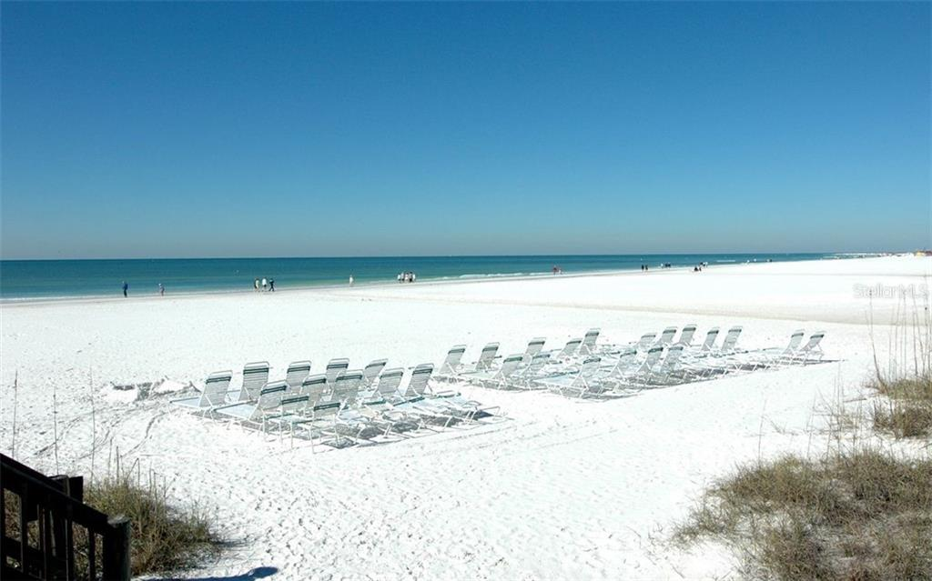 Casarina's private white sand beach - Condo for sale at 5880 Midnight Pass Rd #810, Sarasota, FL 34242 - MLS Number is A4208619