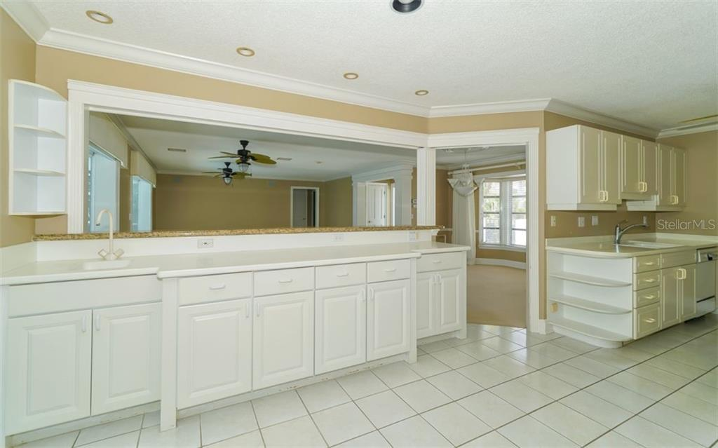 Plenty of counter space in the kitchen. Storage too! - Single Family Home for sale at 390 Bob White Dr, Sarasota, FL 34236 - MLS Number is A4413388