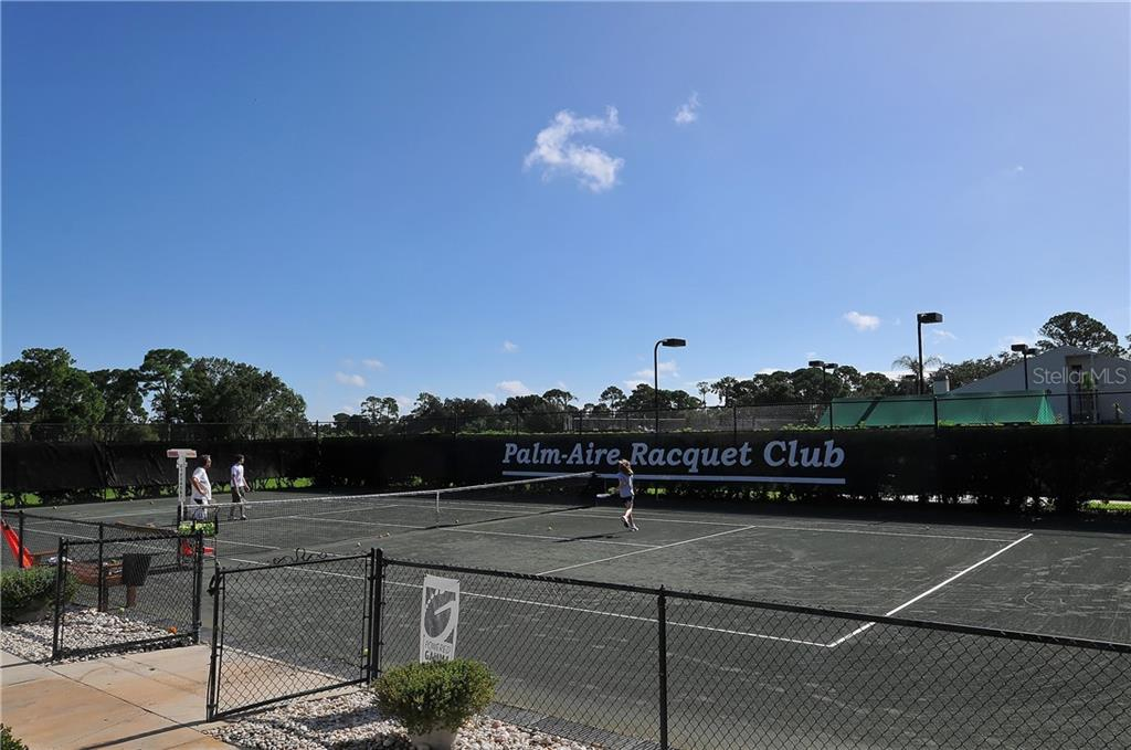 Tennis and pickle ball courts. - Single Family Home for sale at 8106 Timber Lake Ln, Sarasota, FL 34243 - MLS Number is A4423770