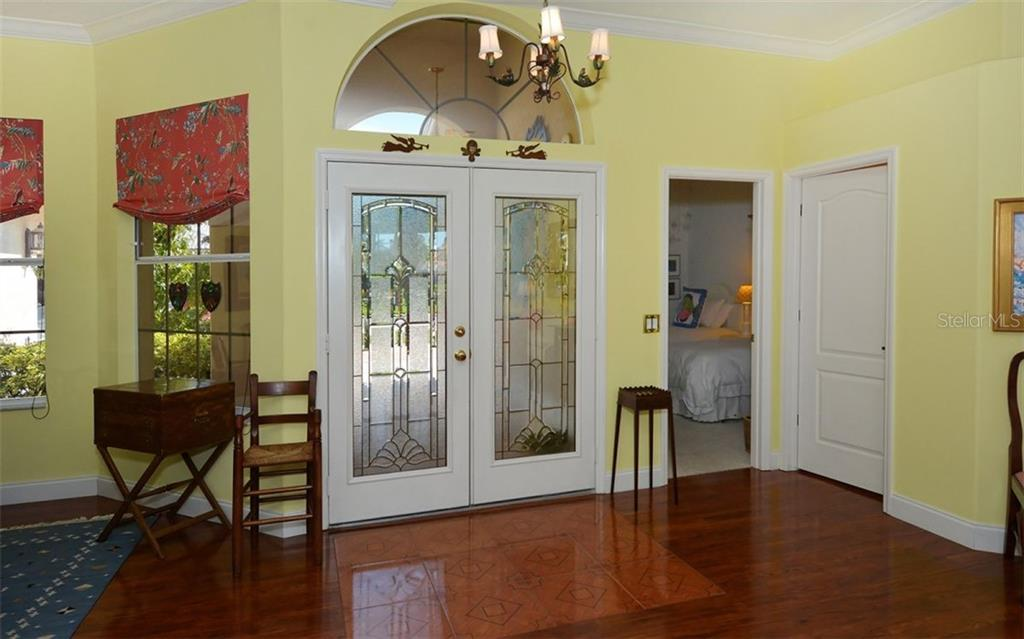 Lovely front entry. - Single Family Home for sale at 8926 Grey Oaks Ave, Sarasota, FL 34238 - MLS Number is A4425574