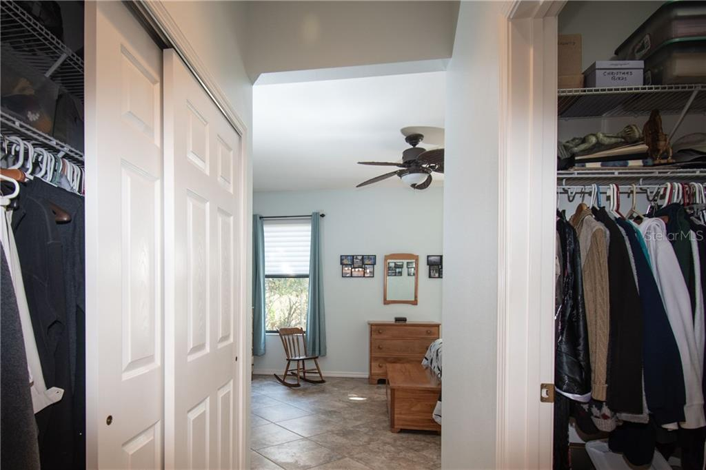 His and Her closet - Villa for sale at 1808 Batello Dr, Venice, FL 34292 - MLS Number is A4426491