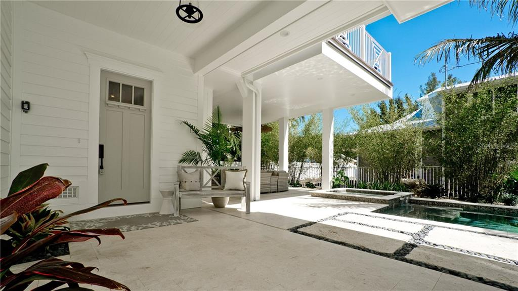 main entrance - Single Family Home for sale at 720 North Shore Dr, Anna Maria, FL 34216 - MLS Number is A4428062