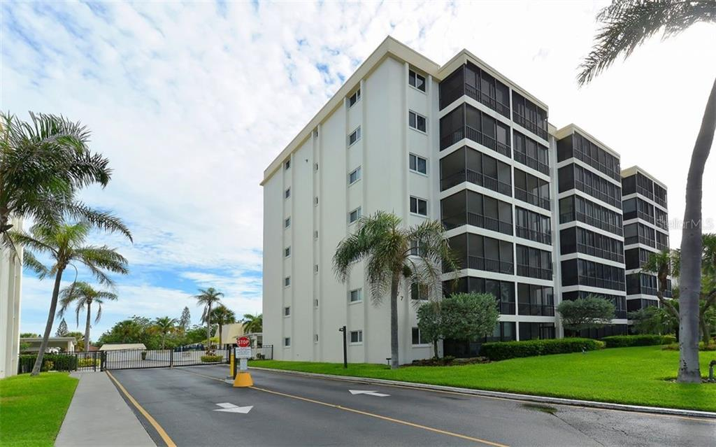 Gated Entrance. - Condo for sale at 797 Beach Rd #215, Sarasota, FL 34242 - MLS Number is A4430524