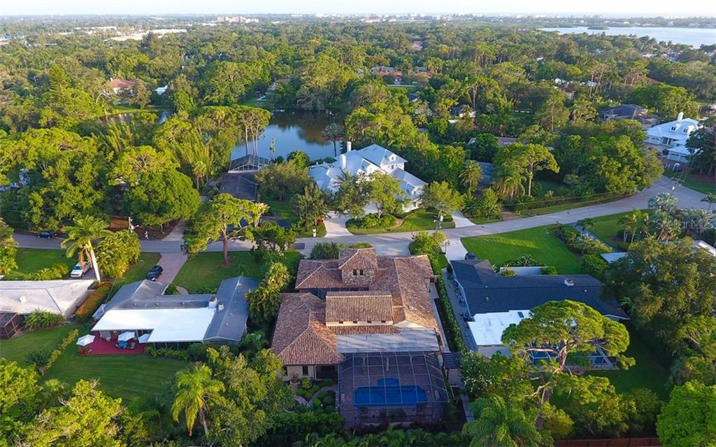 Single Family Home for sale at 1525 N Lake Shore Dr, Sarasota, FL 34231 - MLS Number is A4443962