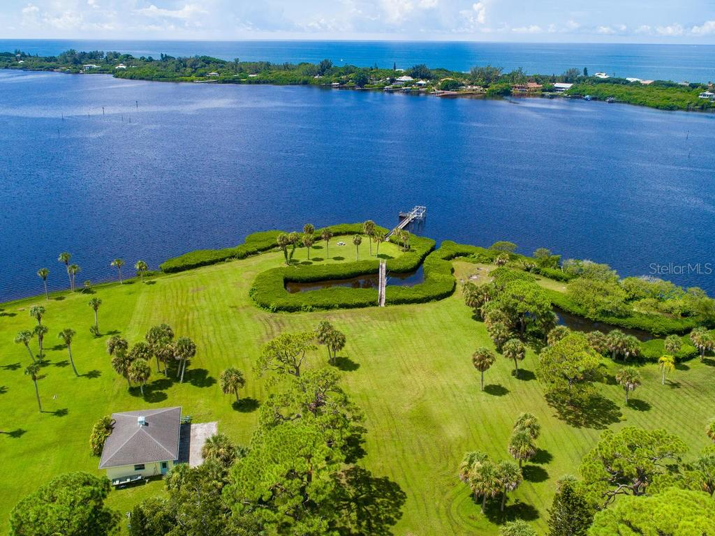 One of of a kind Tropical Oasis - Single Family Home for sale at 1716 Bayshore Dr, Englewood, FL 34223 - MLS Number is A4445961