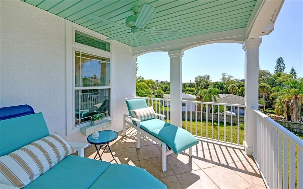 3rd floor balcony. - Single Family Home for sale at 5365 Calle Florida, Sarasota, FL 34242 - MLS Number is A4449055
