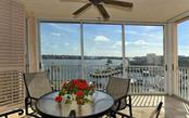 Bay views from enclosed balcony - Condo for sale at 1260 Dolphin Bay Way #401, Sarasota, FL 34242 - MLS Number is A4173008