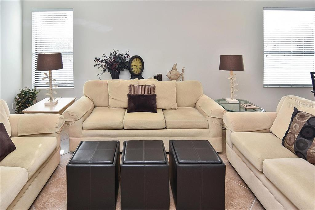 Living room - Villa for sale at 11108 Batello Dr, Venice, FL 34292 - MLS Number is N6104651